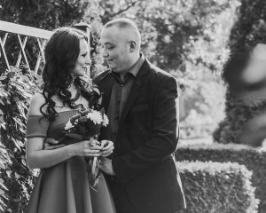 Свадебные ч/б фотографии