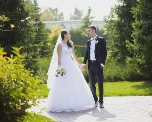 Свадебные фотографии, прогулка