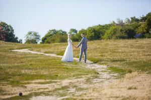 Свадебная прогулка в ботаническом саду