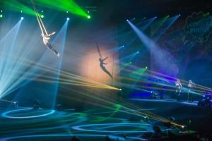 Съемка циркового представления