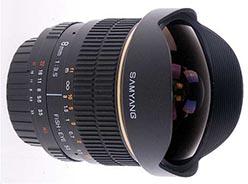 Samyang 8mm f/3.5 AE AS IF Fisheye