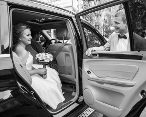 Свадебные чб фотографии