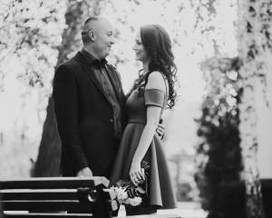 фотографии свадьбы чб
