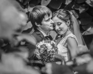 Свадебные черно белые фотографии